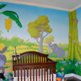 Bringing the Wild Indoors: The Jungle Book Mural