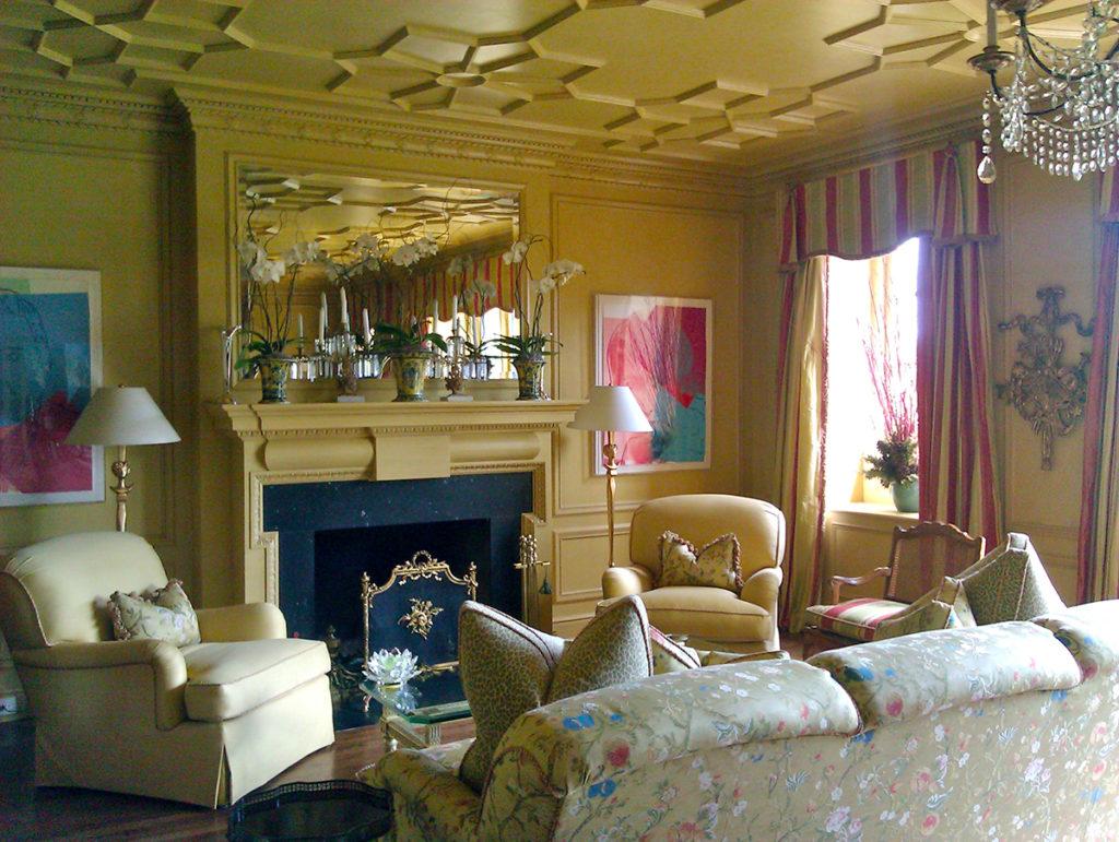 Living Room Mottled Ceiling main