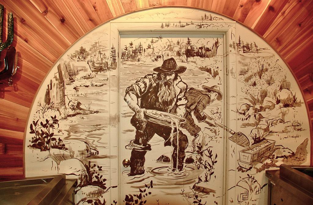 Gold Rush Mural